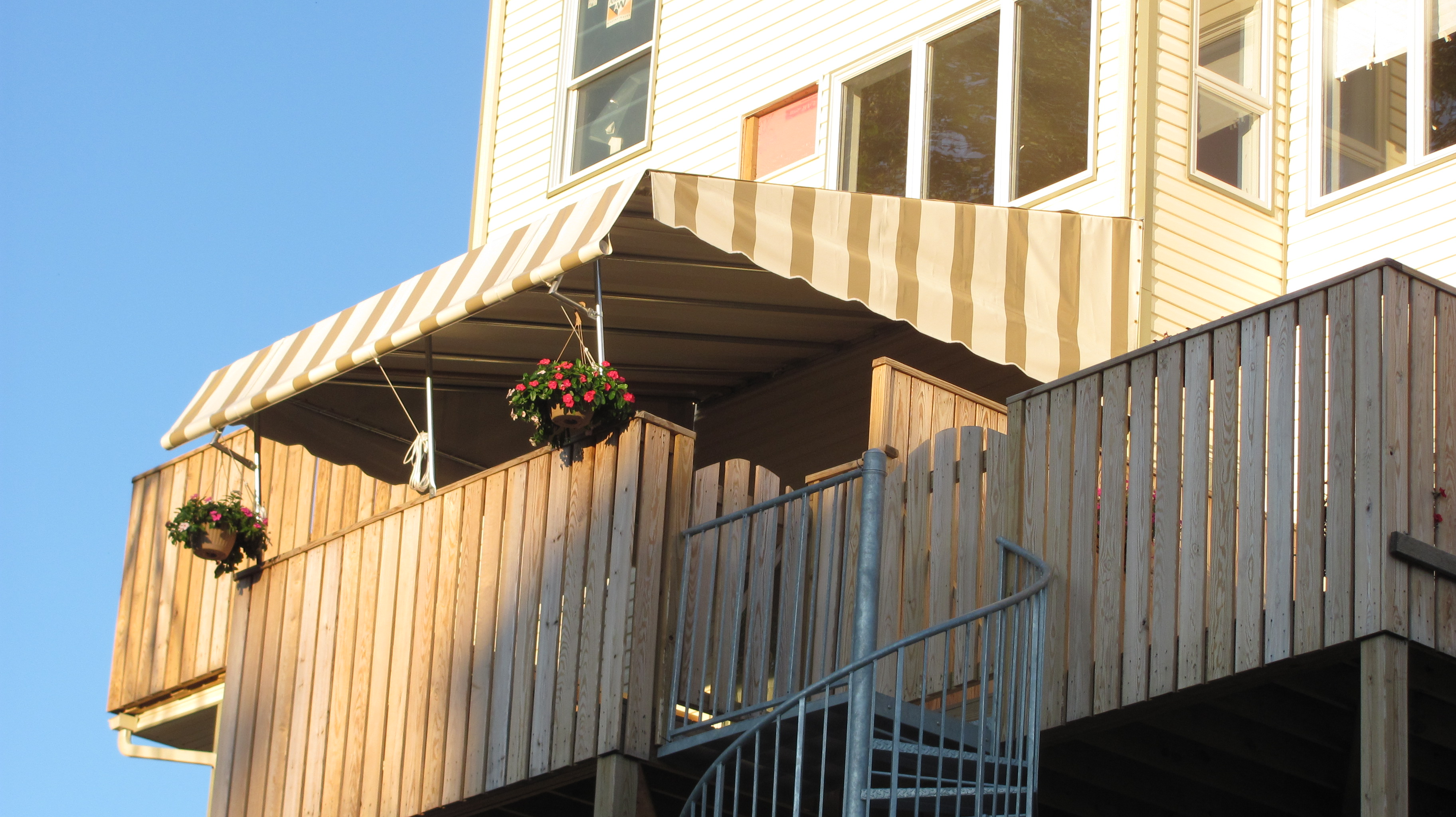 Sukkah Awnings By Dean Our Goals Value Service High